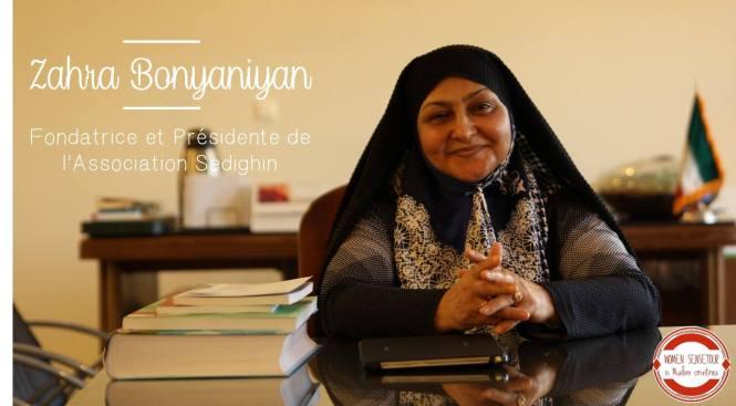 Zahra Bounyaniyan Women Sense Tour WST