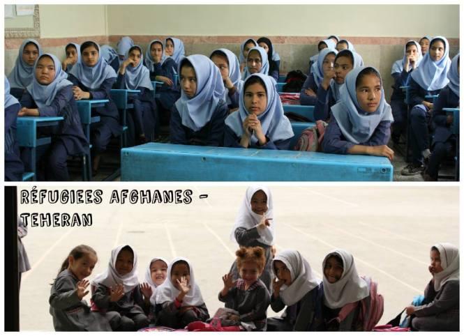Réfugiées afghanes Women Sense Tour WST