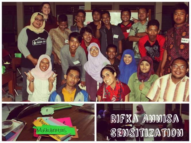 Atelier de sensibilisation Women Sense Tour WST