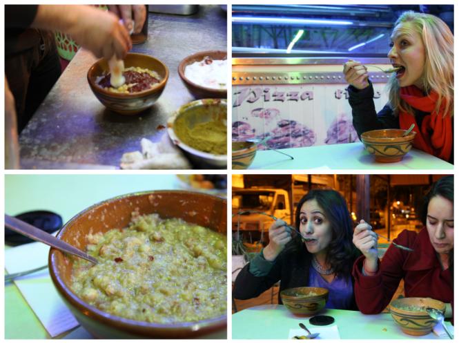Tunis repas Leblebi Women SenseTour WST