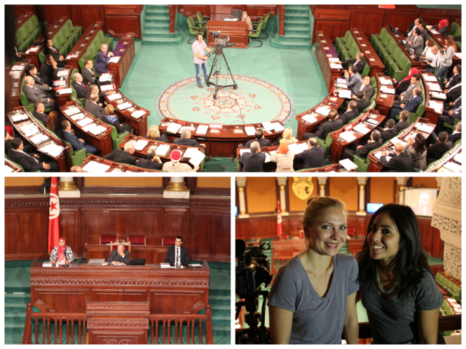 Assemblée constituante Tunis Women SenseTour WST