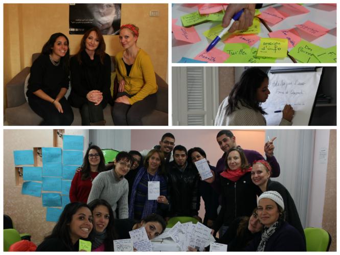 Interview et atelier de créativité El Kef Women SenseTour WST