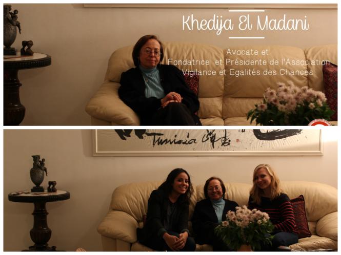 Rencontre Khedija El Madani Women SenseTour WST