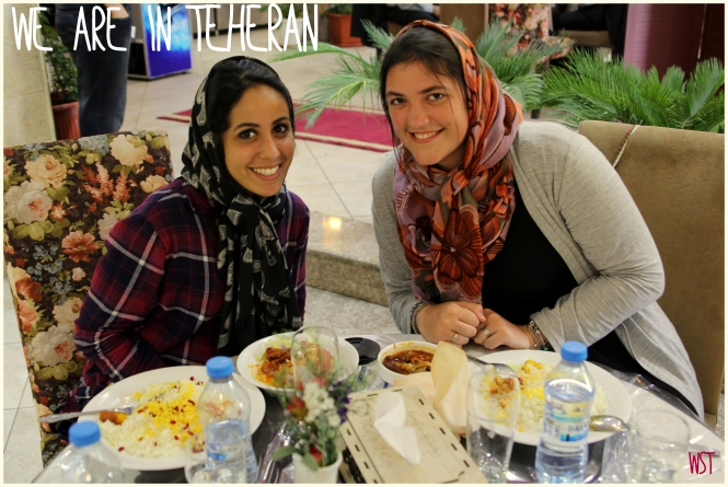 Premier repas à Téhéran Women Sense Tour WST