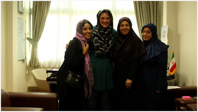 Rencontre au Ministère Women Sense Tour WST
