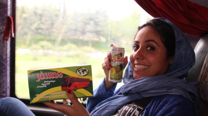 Bus Téhéran - Isfahan Women Sense Tour WST