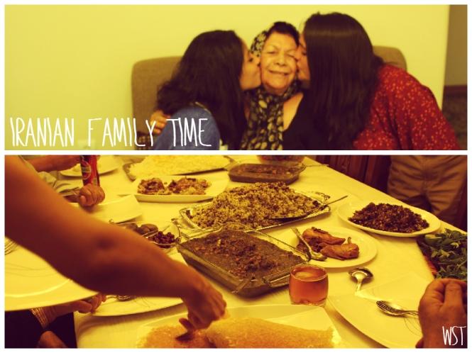 Iranian family time