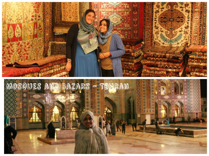 Mosques and bazar Women Sense Tour WST