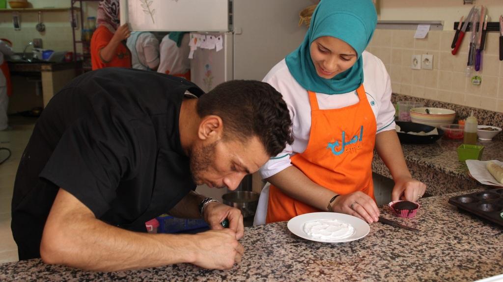 Chef Cuisinier - Association Amal pour les arts culinaires - Copyright Women SenseTour in Muslim Countries