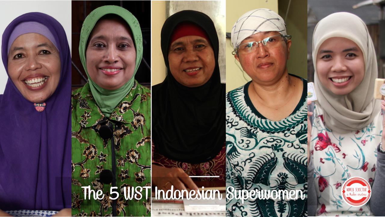 Les Héroïnes Indonésiennes du WST