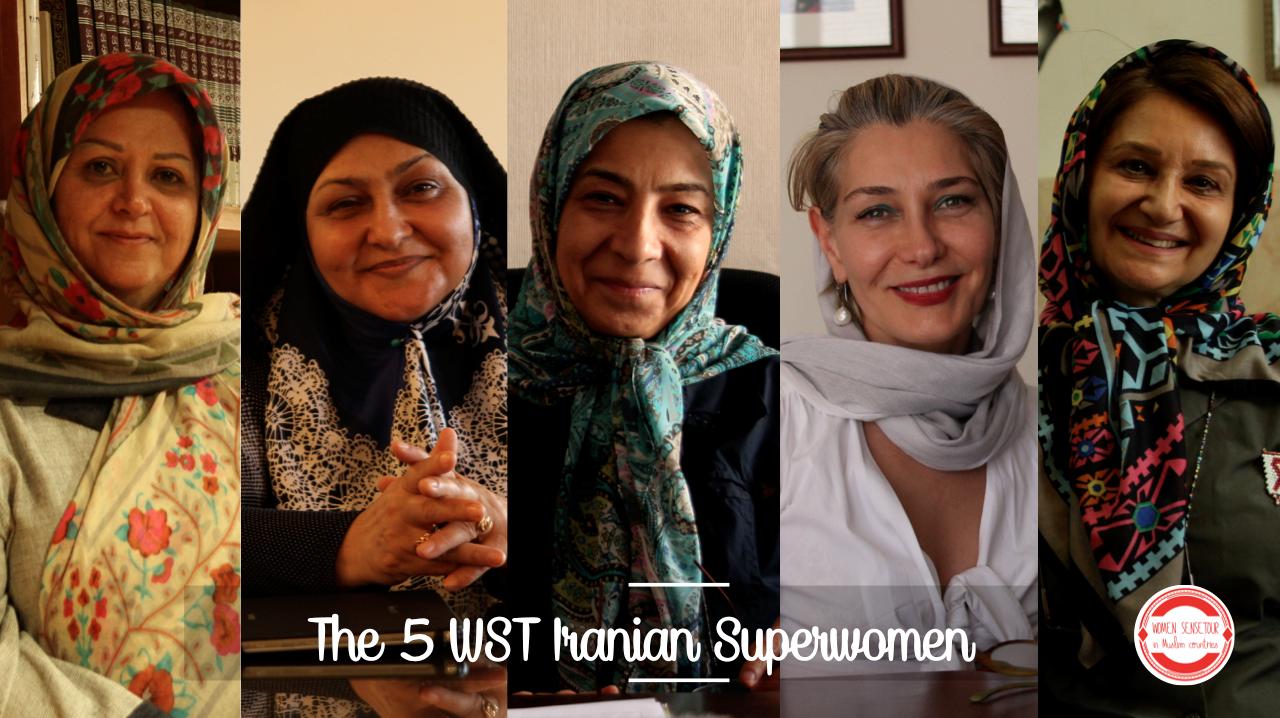 Les Héroïnes Iraniennes du WST